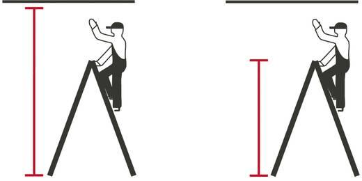 Holz Stufen-Doppelleiter Arbeitshöhe (max.): 3.00 m Krause Echelle à double barreau (Bois), 2 X 5 barreaux 170071 Holz