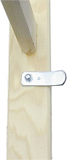 Holz Stufen-Doppelleiter Arbeitshöhe (max.): 4.80 m Krause 170149 Holz 21 kg