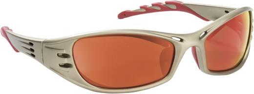 Schutzbrille verspiegelt 3M 75000-00063 Silber, Rot DIN EN 166-1