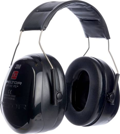 Peltor MT155H530A 380 Optime™ Kapselgehörschützer PTL Schwarz, Grau 1 St.