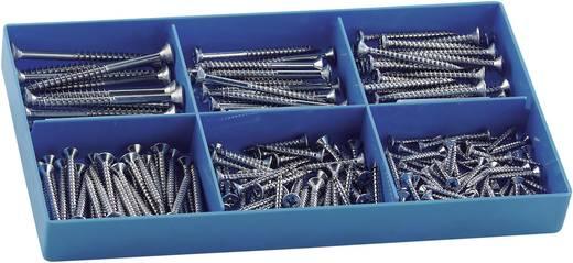 Spanplattenschrauben-Sortiment 200 Teile 838516