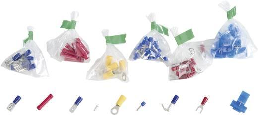 Quetschverbinder-Sortiment 0.75 mm² 10 mm² Weiß, Gelb, Rot, Blau, Metall 838517 700 St.