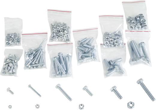 Kombi-Schrauben-Sortiment Nachfüllpackung 374 Teile 838518