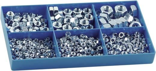Muttern-Sortiment M3 - M10 DIN 934 Stahl verzinkt 615 Teile 838796
