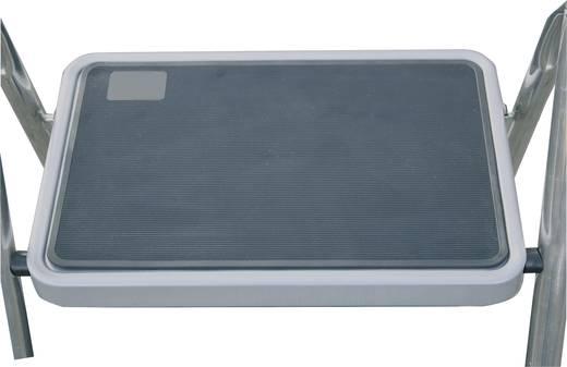 Aluminium Klapptritt klappbar Arbeitshöhe (max.): 2.50 m Krause MONTO Toppy XL 130860 Silber 4.5 kg