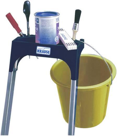 aluminium stufen stehleiter arbeitsh he max m krause 126450 silber 6 8 kg. Black Bedroom Furniture Sets. Home Design Ideas