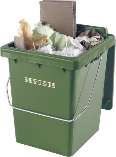 Mülleimer 10 l Mülli (B x H x T) 175 x 300 x 195 mm Grün 1 St.