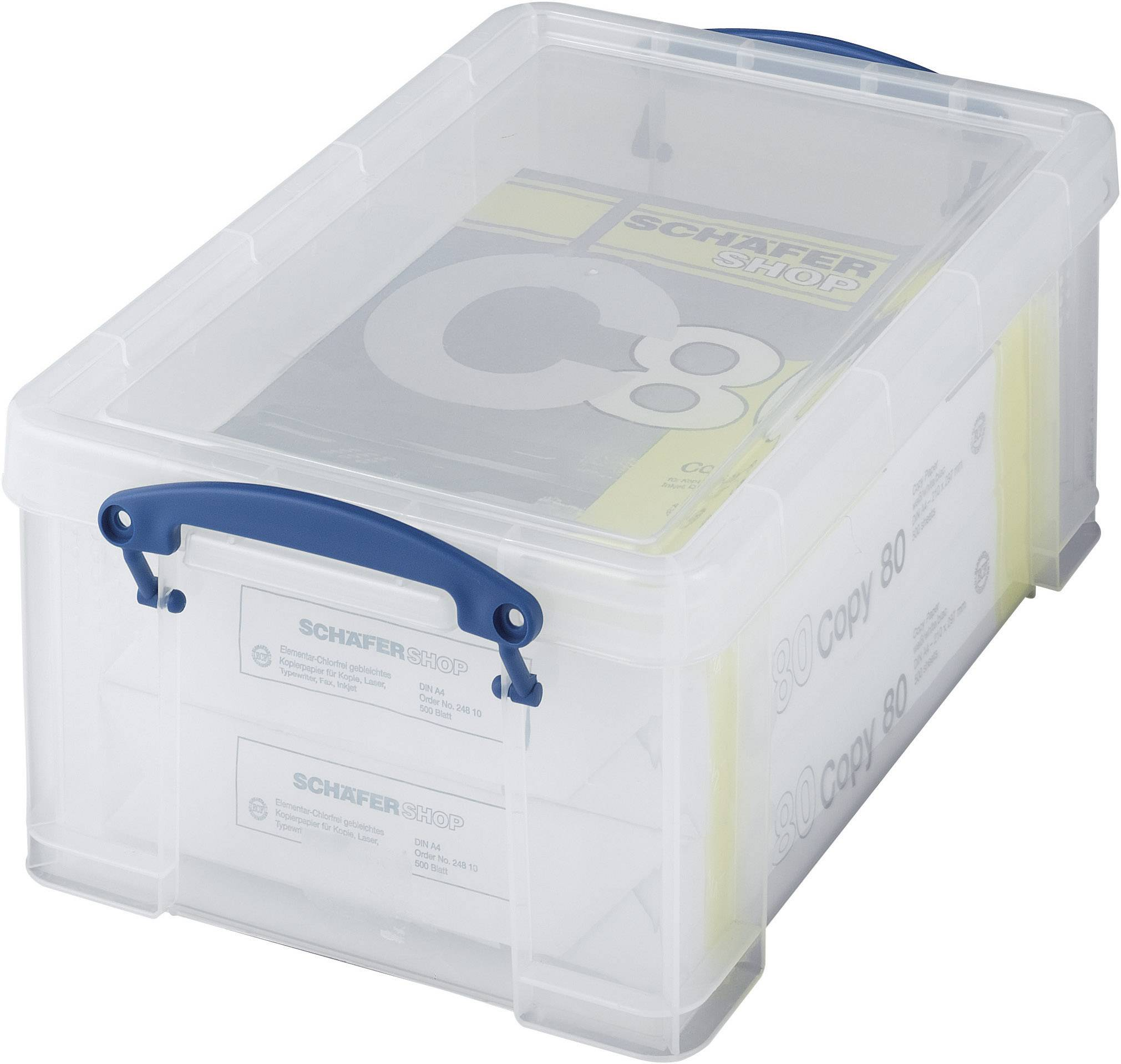 kunststoffbox transparent