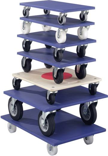 Transportroller Holz Traglast (max.): 750 kg
