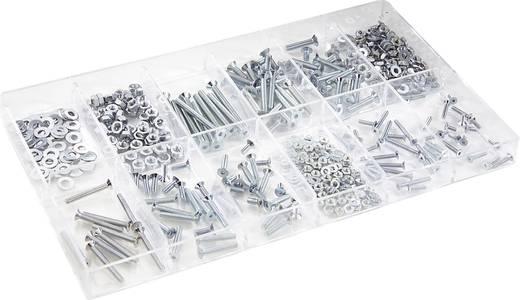 Kombi-Schrauben-Sortiment 480 Teile 839620