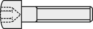 ISO 4762 Zylinderkopfschrauben - DIN 912 aus rostfreiem Edelstahl A2 V2A - Vollgewinde M3x20 - 5 St/ück SC912 Zylinderschrauben mit Innensechskant