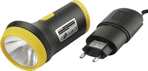 Krypton Taschenlampe Brüder Mannesmann Akku-Taschenlampe akkubetrieben 230 g Gelb, Schwarz
