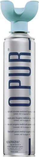 Sauerstoffflasche oPur Bouteille d'oxygène avec embout pour la bouche mit Mundstück