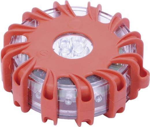 Kunzer Blinkleuchte 7WBL01 batteriebetrieben Magnet-Befestigung Rot, Weiß