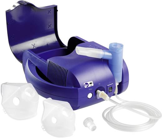 Inhalator Inqua Inhalateur aérosol mit Atemmaske, mit Mundstück, inkl. Inhalationslösung