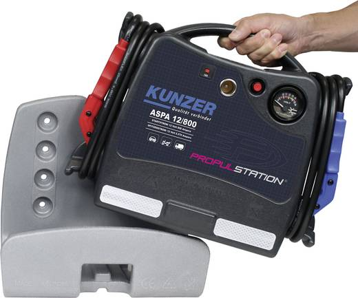 Kunzer Schnellstartsystem Démarreur de batterie de 12 V avec station de charge DC/DC ASPD 12/800 DC/DC Starthilfestrom (