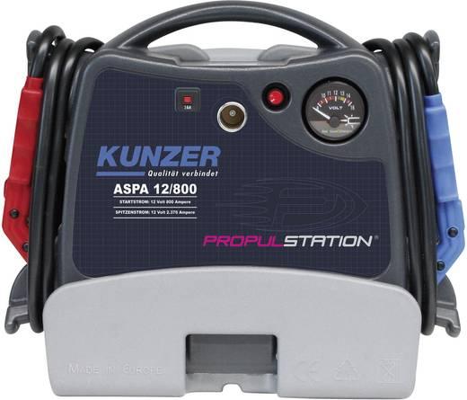 Kunzer Schnellstartsystem AKKU-Start 12V mit Ladestation AC/DC ASPA 12/800 AC/DC Starthilfestrom (12 V)=800 A