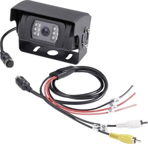4 Kabel-Rückfahrkamera Shutter, Automatischer Weißabgleich, Blendenautomatik, IR-Zusatzlicht, integriertes Mikrofon, in