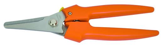 Allzweckschere schneidet verschiedenste Materialien wie weichen Draht, Kabel, Gummi, Teppichboden, Plastik, Leder, Blech