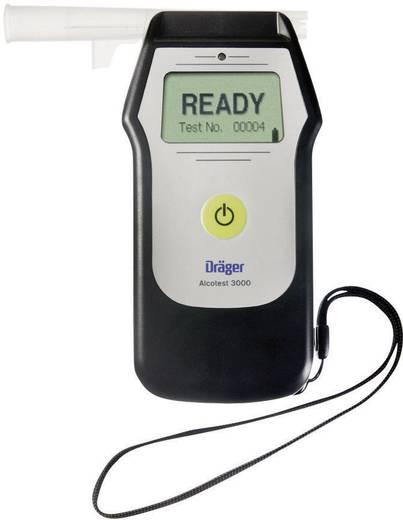 Alkoholtester Dräger ALKOHOLTESTER DRÄGER ALCOTEST 3000 en 5 mg/ml Gerätesprache: Englisch inkl. Display