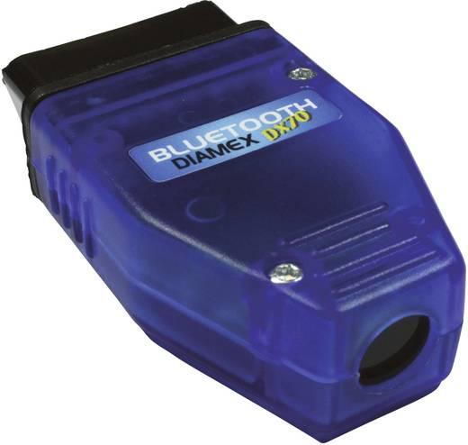 OBD II Bluetooth®-Interface Diamex DX70 Diamex 4852610 Geeignet für alle Fahrzeuge mit OBD II Buchse
