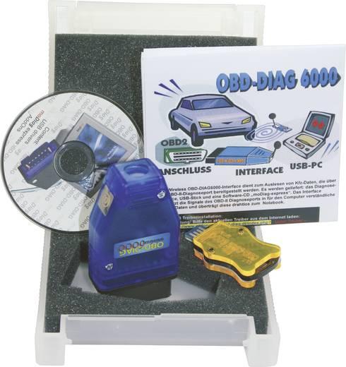 OBD II Funk-Interface OBD-DIAG6000 Diamex Diag6000 Geeignet für alle Fahrzeuge mit OBD II Buchse