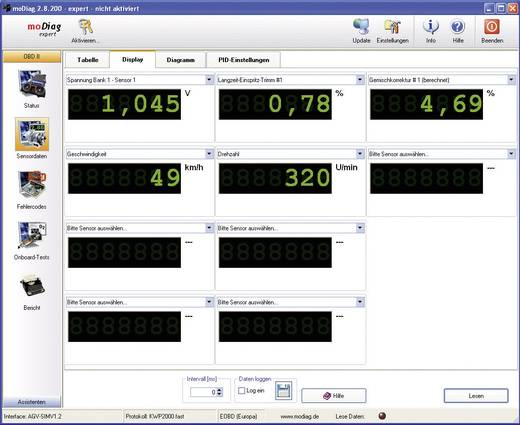 OBD Software moDiag Expert Diamex 4853010
