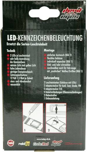 Kennzeichenbeleuchtung LED 610770 Universal