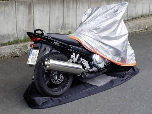 Eufab Motorrad Rundum-Garage (B x H x T) 246 x 127 x 104 cm Motorrad Größe L Motorrad