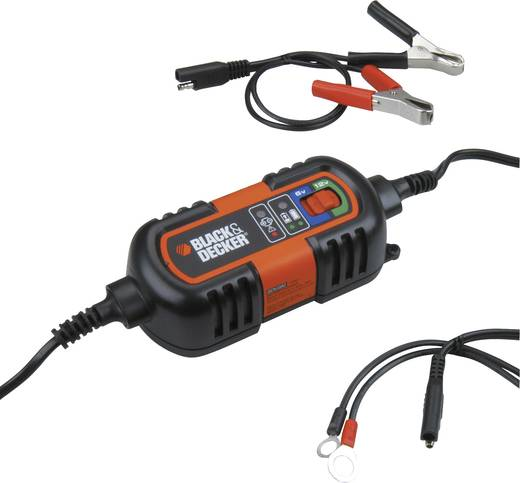 Black & Decker Erhaltungslader 6/12 70111 Automatikladegerät 6 V, 12 V 1.2 A 1.2 A