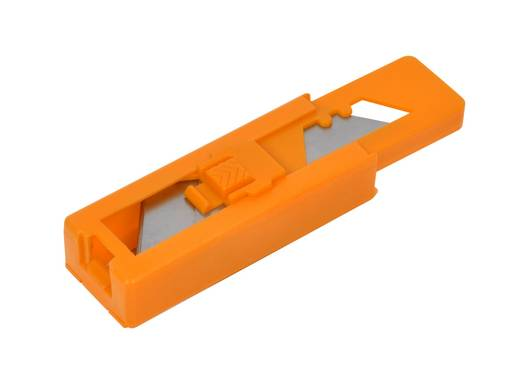 Teppichmesser  Ersatzklingen für Teppichmesser in Plastiknachfüllbehälter, 10 ...