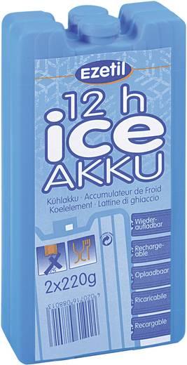 Kühlakkus IceAkku 2 x 220 g Ezetil Blau (L x B x H) 165 x 88 x 20 mm
