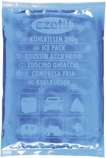 Kühlakkus SoftIce 200 blue Ezetil Blau-Eisblau (B x H x T) 100 x 12 x 180 mm