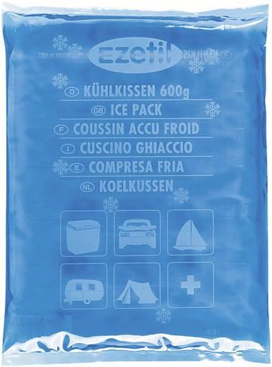 Kühlakkus SoftIce 600 blue Ezetil Blau-Eisblau (B x H x T) 150 x 12 x 210 mm