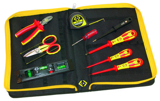Elektriker Werkzeugset 10teilig C.K. 595002