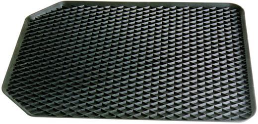 Fußschalenmatte Universal Gummi (L x B x H) 55 x 45 x 4.5 cm Schwarz 16524