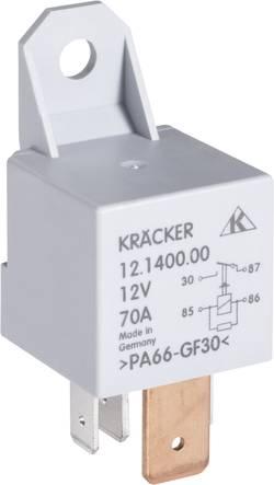 Relais automobile Kräcker 12.1400.00 12 V/DC 70 A 1 NO (T) 1 pc(s)
