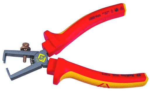 VDE-Abisolierzange Geeignet für Leiter mit Standard-Isolation 0.3 bis 5 mm C.K. RedLine 431012