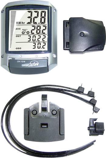 Fahrradcomputer, kabellos Security Plus DK124 II Codierte Übertragung mit Radsensor
