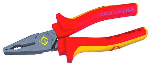 VDE Kombizange 165 mm VDE 0682-201, DIN EN 60900, DIN ISO 5746 C.K. 431001