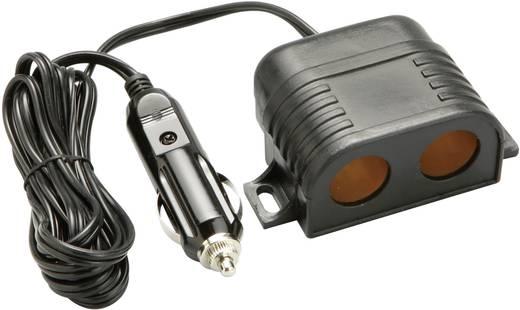 2fach-Aufbausteckdose Belastbarkeit Strom max.=10 A Passend für (Details) Zigarettenanzünder
