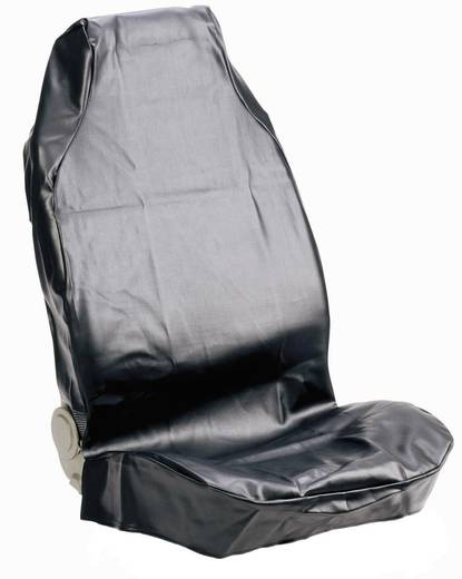 Werkstattschoner 1 Stück 074010 Kunstleder Schwarz Fahrersitz