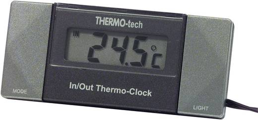 Thermometer Innen-/Außentemperatur, Aufbau, Kabelsensor, Standfuss 4518 Herbert Richter