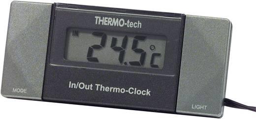 Thermometer Kabelsensor, Standfuss, Innentemperatur, Außentemperatur, 12 h-Anzeige 4518 Herbert Richter -50 bis +70 °C