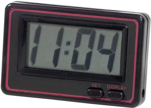 Herbert Richter Quarz-Uhr digital Schwarz, Rot