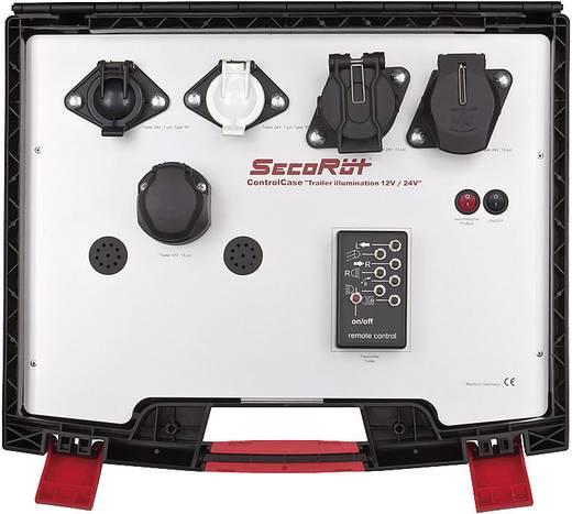 SecoRüt Funk-Werkstattprüfkoffer für Anhängerbeleuchtung 12/24 V (2. Generation)