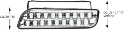 Luce di marcia diurna, Luce di posizione LED (L x A x P) 100 x 25 x 35 mm AEG 97142