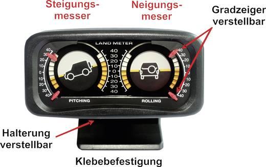 Kfz Einbauinstrument Neigungsmesser 1078140 Gelb