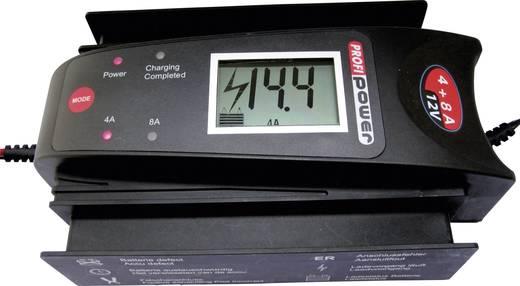 Automatikladegerät Profi Power LCD 4+8A 12 V 4 A, 8 A