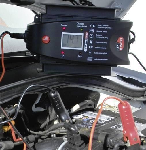 Automatik-Ladegerät LCD 12+24 A
